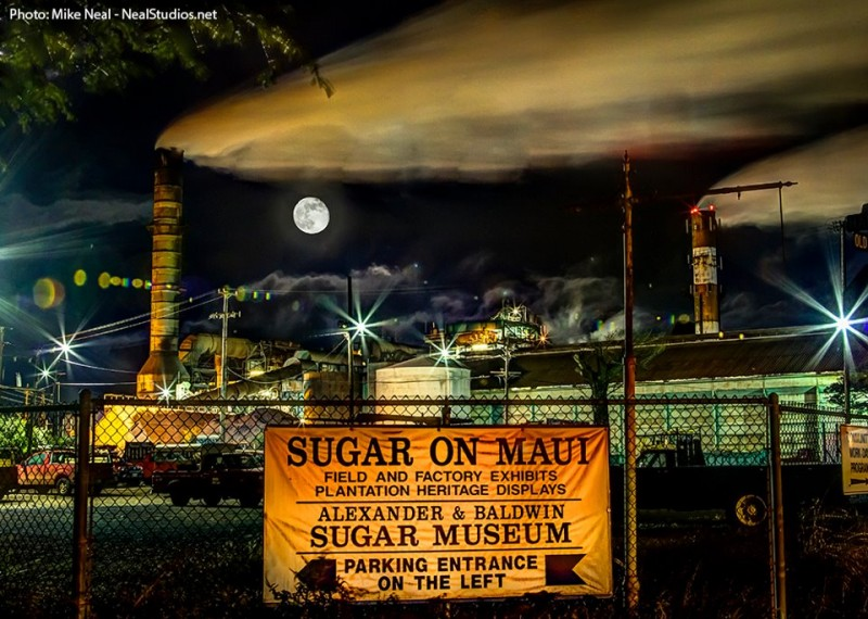 No More Cane Burning, Because No More Sugar Plantation, on Maui by the End of 2016