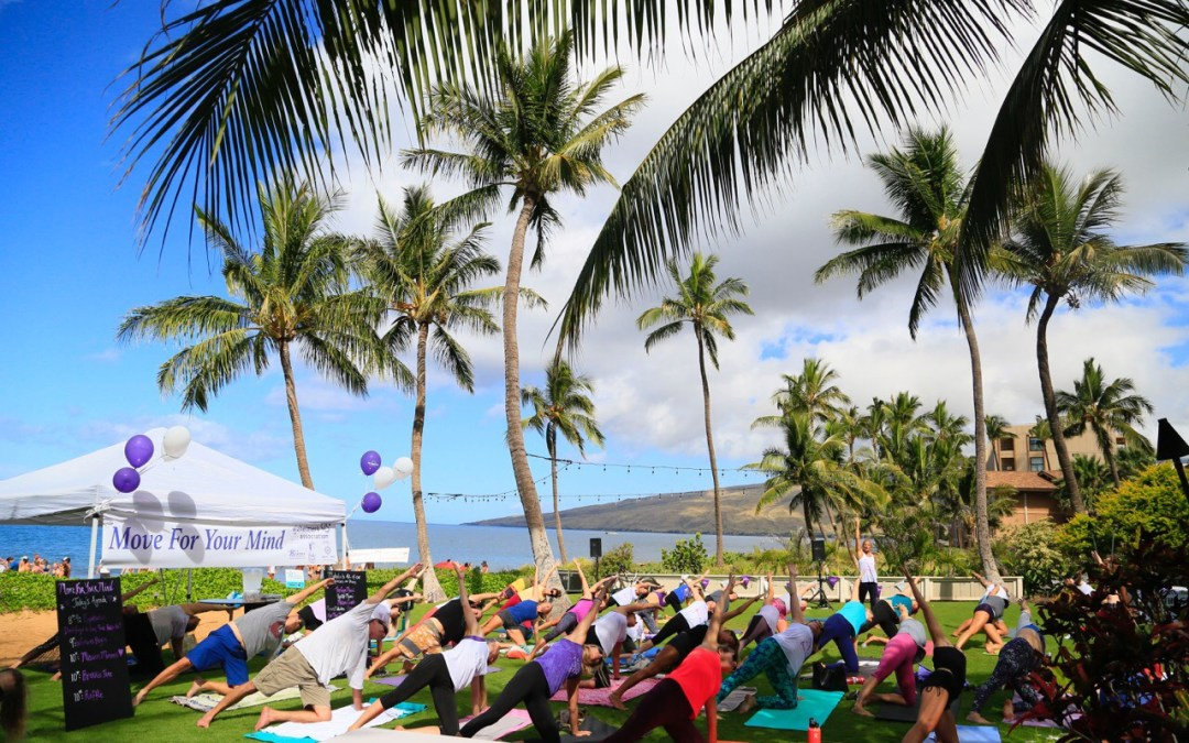Move for Your Mind; a Dedication to those Affected by Alzheimer's Disease; Maui Event