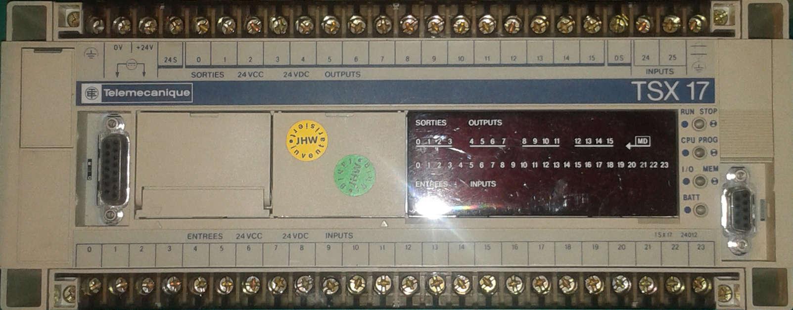 Câble de liaison PC  TSX17