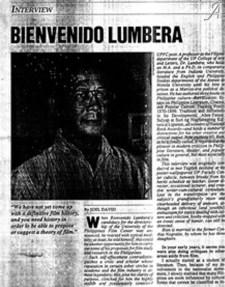 Midweek - Bien Lumbera interview