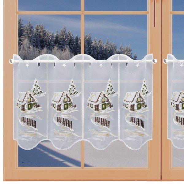 Winter-Panneau Haus im Schnee