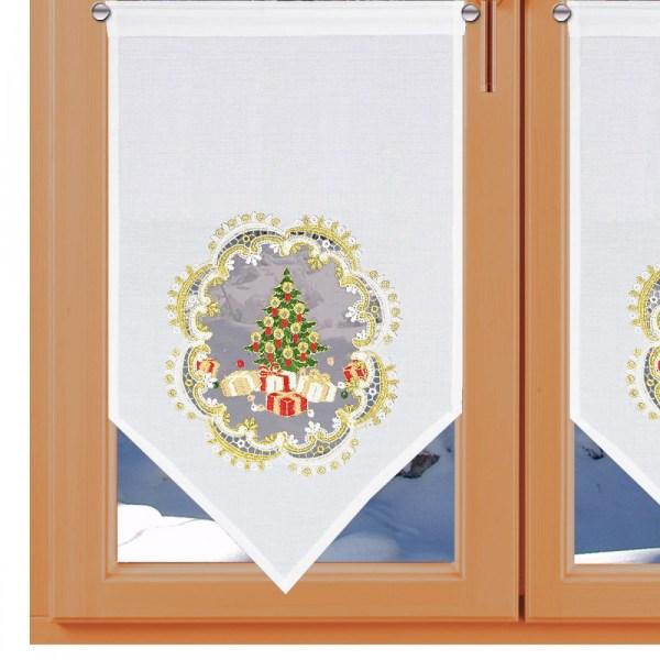 Winter-Scheibenhänger Weihnachts-Bescherung