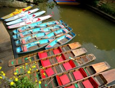 Summer in Oxford and the punts look so very easy to operate. DO NOT BE FOOLED!