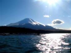 Softened treatment of Mount fuji