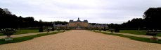 I awoke feeling like I was standing in this picture I took of Vaux le Vicomte and ended thinking I was in a nightmare.