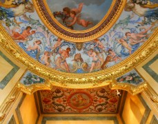 """As I recall, I took this photo in a tiny ante-chamber at Vaux le Vicomte which turned out to be a 17th Century toilet. As a vulgar tourist remarked nearby... """"What a way to go!"""""""