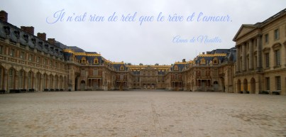 Versailles France Il n'est rien de réel que le rêve et l'amour.