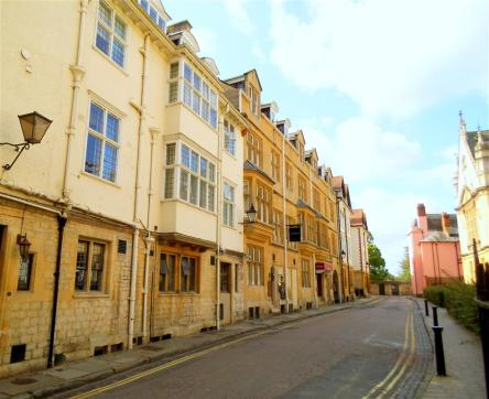 heading down to Magdalen College on a beautiful summer day in Oxford.