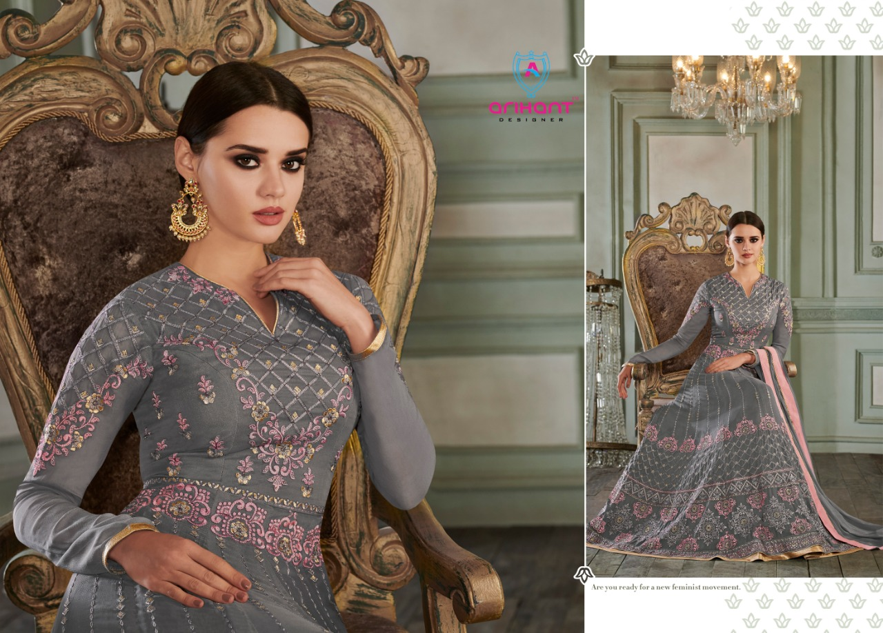 fa4fde0cfd RIHANNA VOL 3 BY ARIHANT DESIGNER HEAVY WORK ANARKALI DESIGNER DRESSES  WHOLESALE IN INDIA. DOWNLOAD ZIP