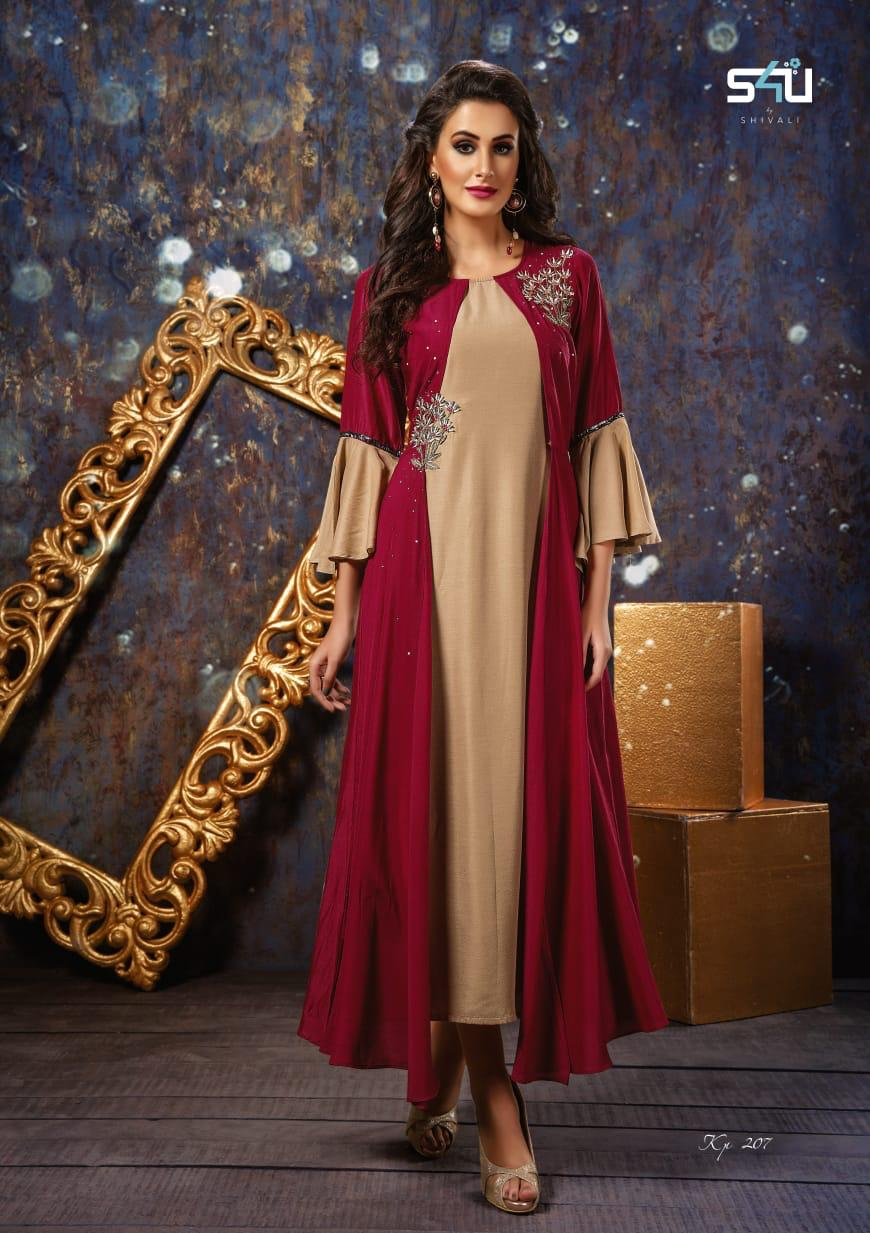 3e11010deb KITTY PARTY VOL 2 BY S4U PARTY WEAR KURTIS COLLECTION WHOLESALERS IN IN  INDIA. DOWNLOAD ZIP