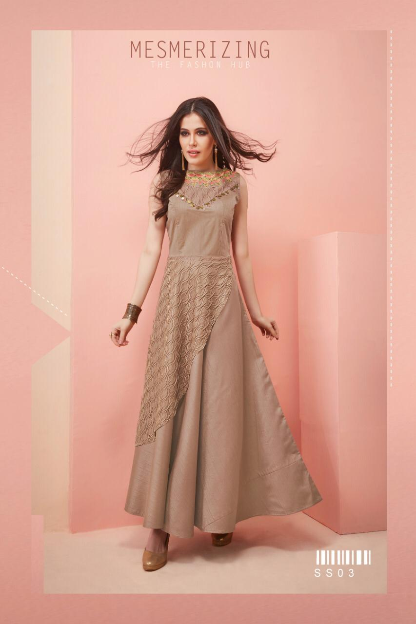 1647137242 AMAVI EXPO SHOW STOPPER bY STF SATIN SILK WEDDING LONG GOWN ...
