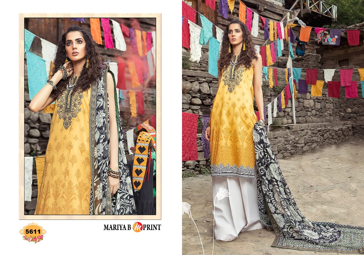 8208e15198 AMAVI EXPO SHREE FABS MARIA B MPRINT PAKISTANI DRESS IN COTTON ...