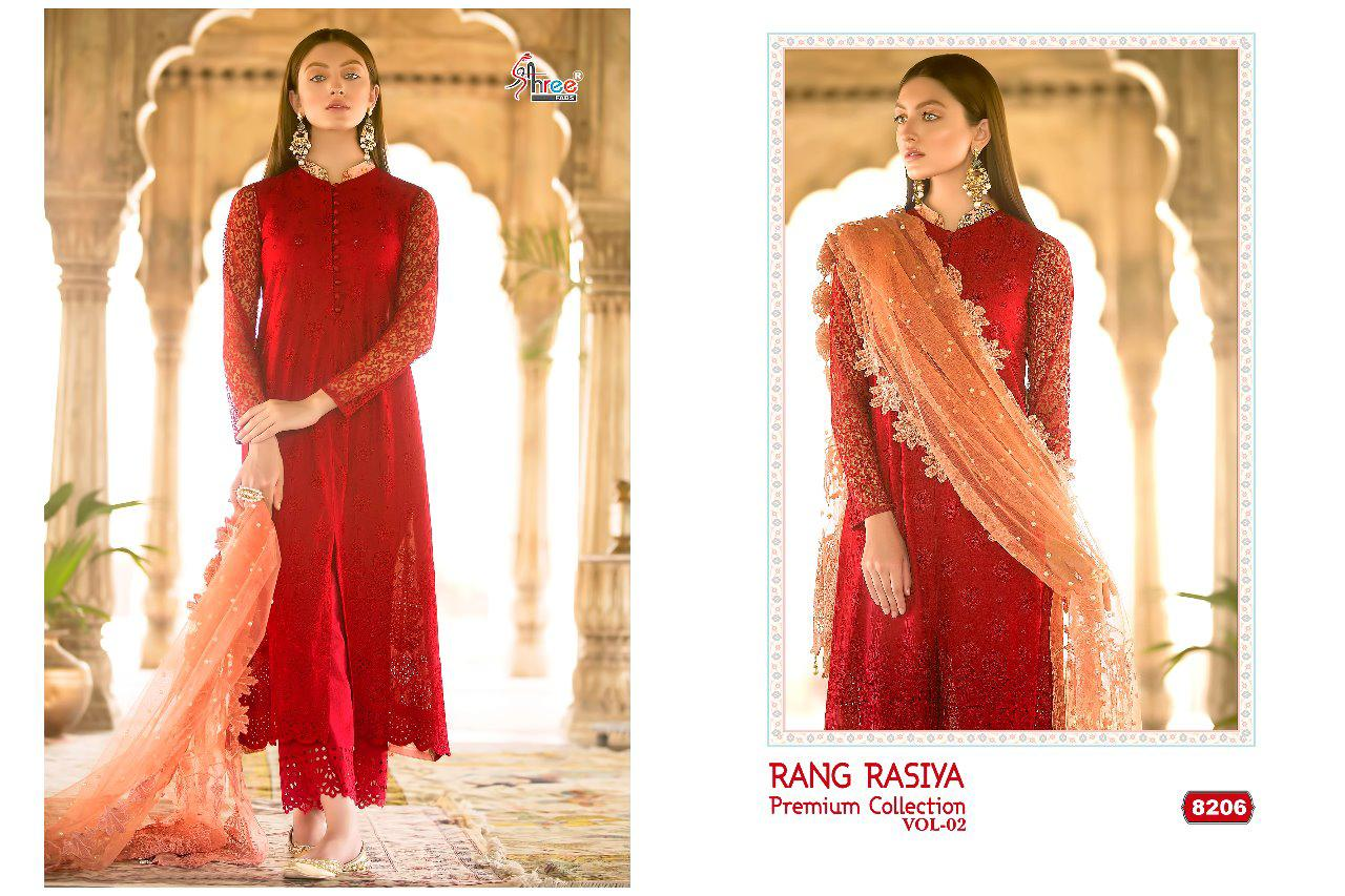 499ec4aad5 SHREE FABS PRESENTS RANG RASIYA PREMIUM COLLECTION VOL 2 COTTON PAKISTANI DRESS  MATERIALS WHOLESALE PRICE SURAT. DOWNLOAD ZIP