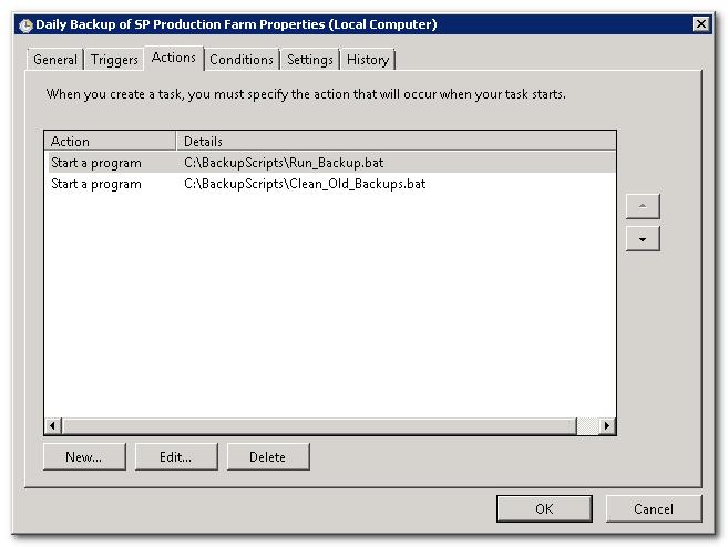 SharePoint 2010 Backup scripts (5/6)