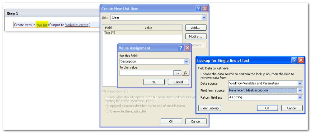 SharePoint 2010, Site Workflow (4/6)