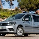 Prueba Volkswagen Caddy Maxi Trendline Gnc 110 Cv Dsg Mucho Espacio Con Pegatina Eco Amaxofilia