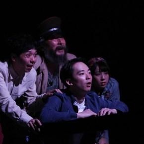 『野がも』舞台写真 @花まる学習会王子小劇場 photo by 赤坂久美