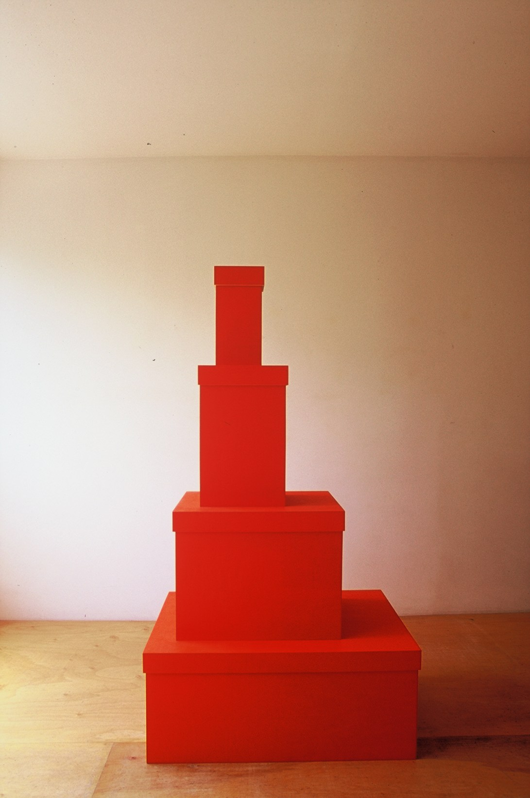 Sculpture 3, Untitled red boxes