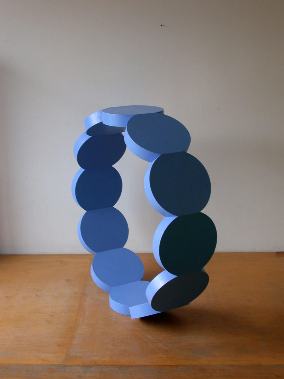 Sculpture 5, Untitled blue ring