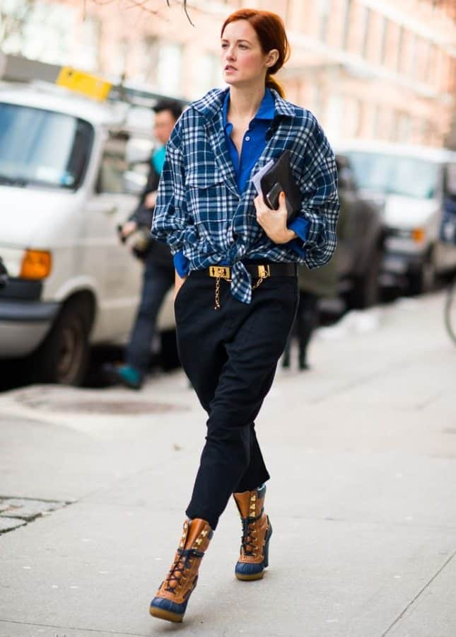 Fall-Street-Style-Dress-Over-Pant-Dressing-5
