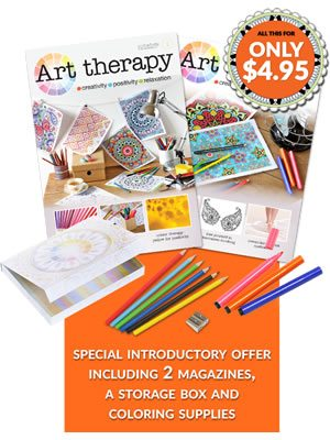 A Monthly Subscription to Art Therapy