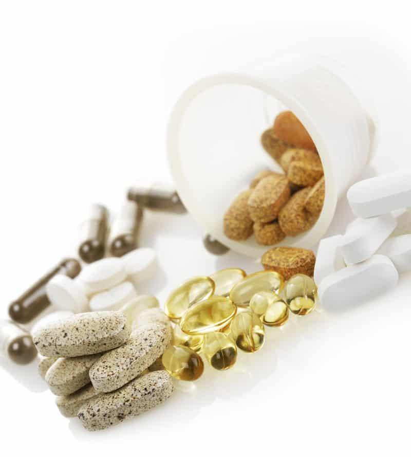 Variety Of Vitamins,Close Up