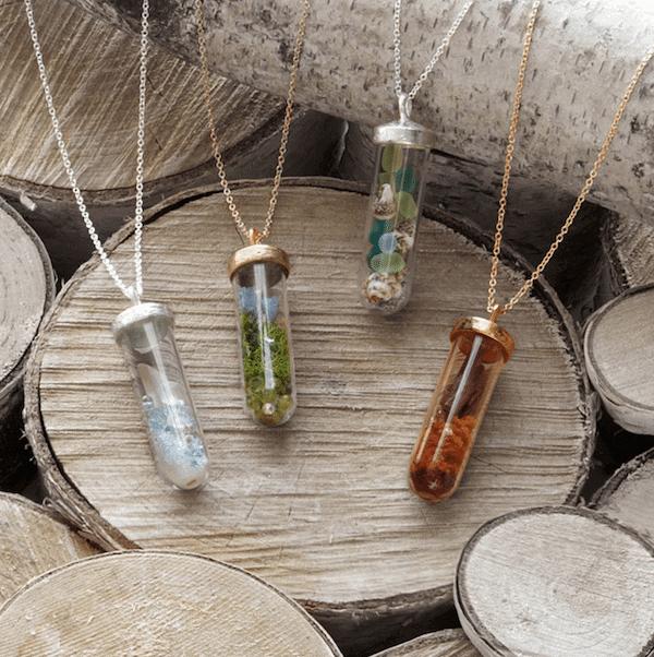 Seasons Terrarium Necklace