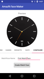 Amazfit Pace Watchface Maker App in Beta
