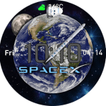 SpaceX – Earth to Mars Watchface