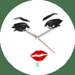 Sexy Eyes Minimalist Watch Face