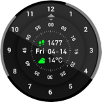 Amazfit Pace Watchface RoteWatch v1