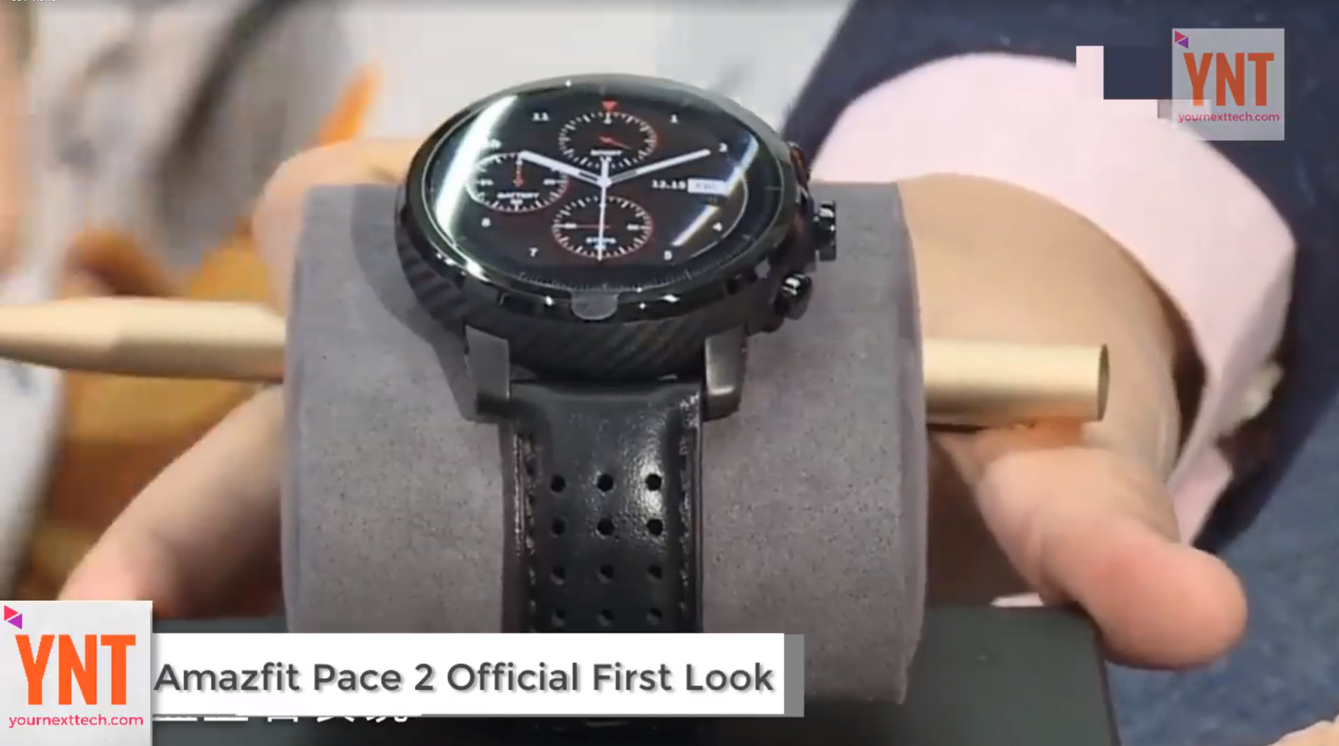 Video From Amazfit Pace 2 Launch Central Xiaomi Equator