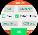 [APP] PaceOn v4.6 – Keep Amazfit Pace screen on, Lock Screen, Quick Switches and more
