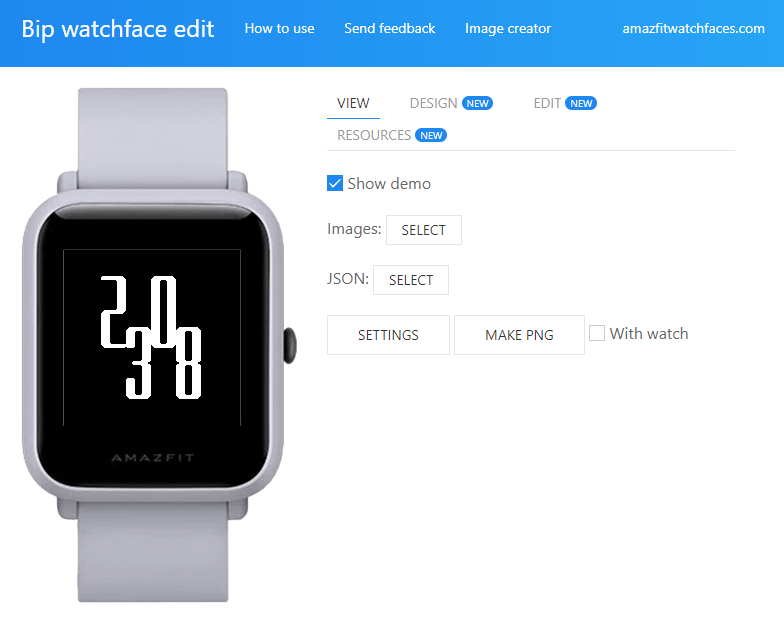 Make your own watchface for Amazfit Bip - Amazfit Central