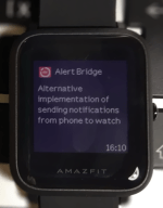 Alert Bridge for Amazfit Bip – Better Alerts for Bip!