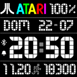Atari Falcon – Amazfit Bip Watch faces