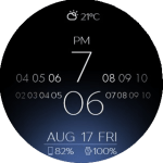 Android Wear – Amazfit Stratos (Pace) Watch faces