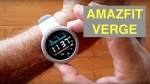 XIAOMI AMAZFIT VERGE IP68 Waterproof Sports Fitness Smartwatch: Unboxing & 1st Look [Global Version]