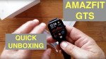 XIAOMI AMAZFIT GTS 5ATM Waterproof Sports Fitness Smartwatch: Quick Unboxing