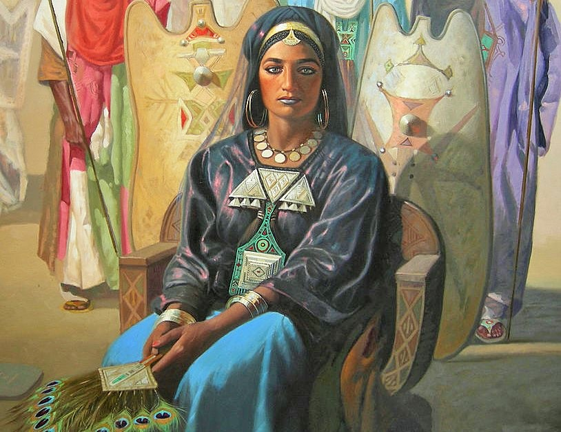 Tin Hinan, Amazigh Queen of the Hoggar