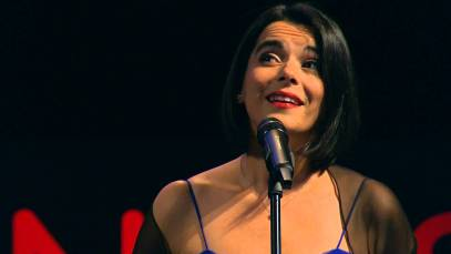 Opera Star Amel Brahim-Djelloul at WORLD.MINDS