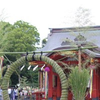 [:ja]鎌倉 鶴岡八幡宮 茅の輪くぐり[:en]Kamakura  Tsurugaoka-hachimangu Chinowakuguri[:]