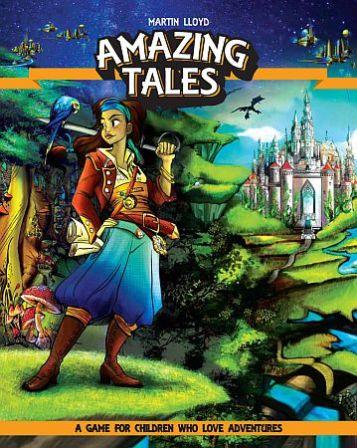 Amazing Tales RPG (T.O.S.) -  Studio 2 Publishing