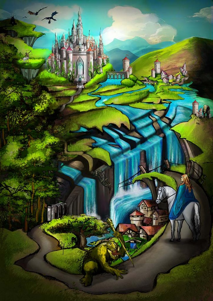 Magical kingdoms long ago
