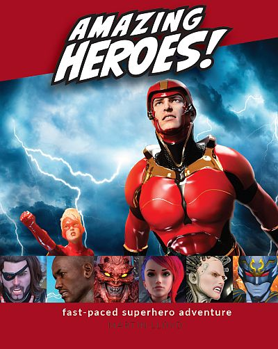 Amazing Heroes cover