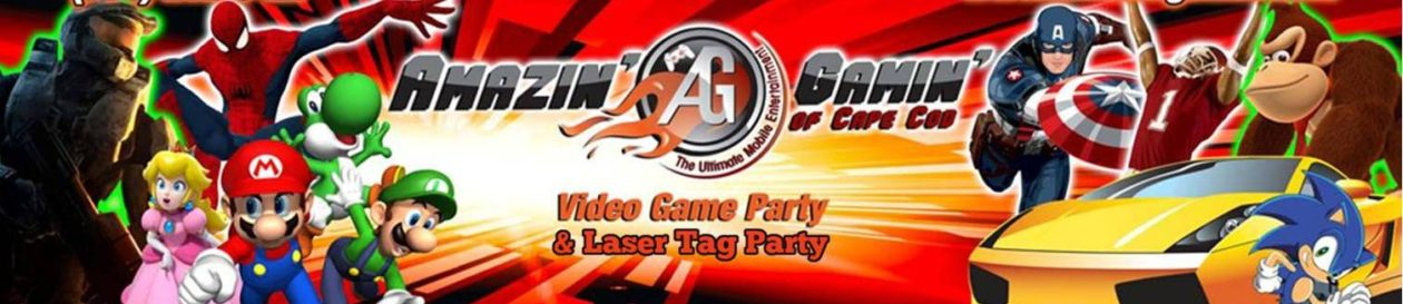 Our Cape Cod Video Game Party Truck   Trailer Amazin  Gamin  of Cape Cod     The Cape s Video Game Truck Party Expert