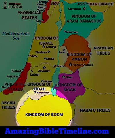 Edomites Descendants of Esau - Amazing Bible Timeline with