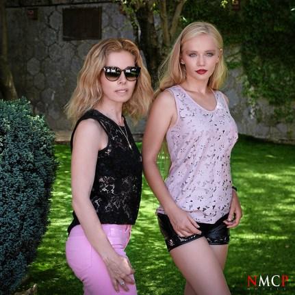 Yulia Vasilyeva and Estefania MUA - NMCPmodels©. Photo: Manuel Torres & GZLo
