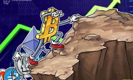 Total Crypto Market Cap Hits 7-Week High At $400 Bln, BTC Holds Near $9K