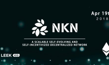 PR: LEEKICO helps Blockchain Network Connectivity Project NKN to Close Successful Crowdfunding